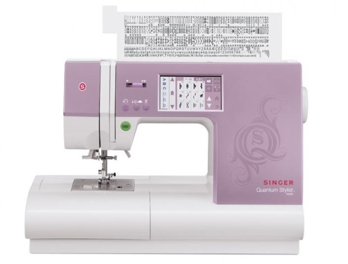 Singer computerized type sewing machine