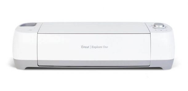 Cricut Explore One machine on a white background