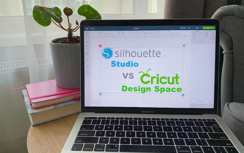 Cricut Design Space software open on a computer