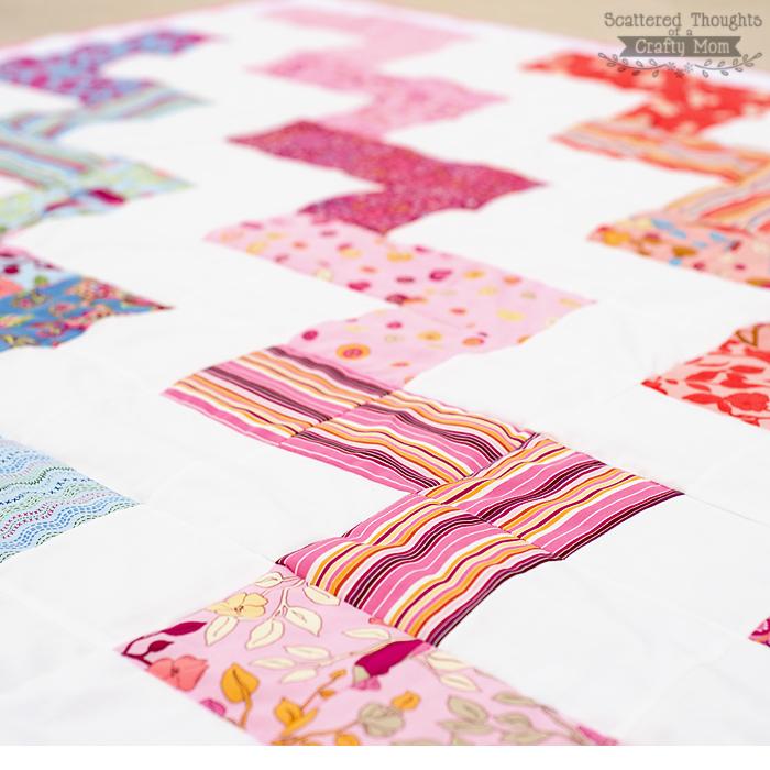 zigzag chevron easy quilt pattern