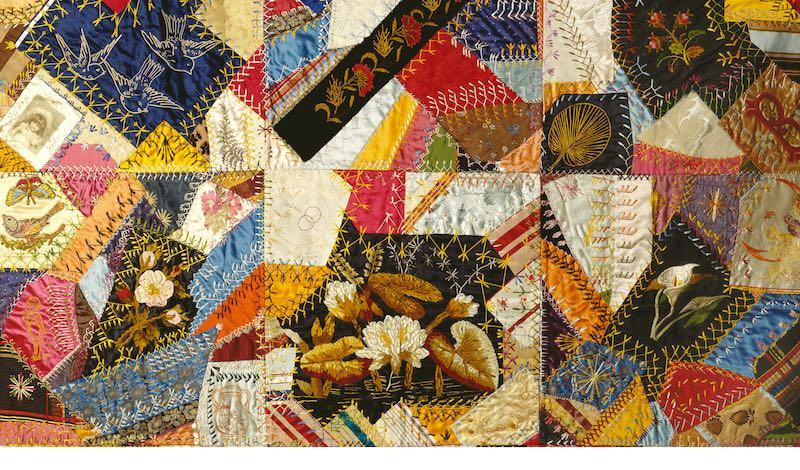 crazy quilt pattern
