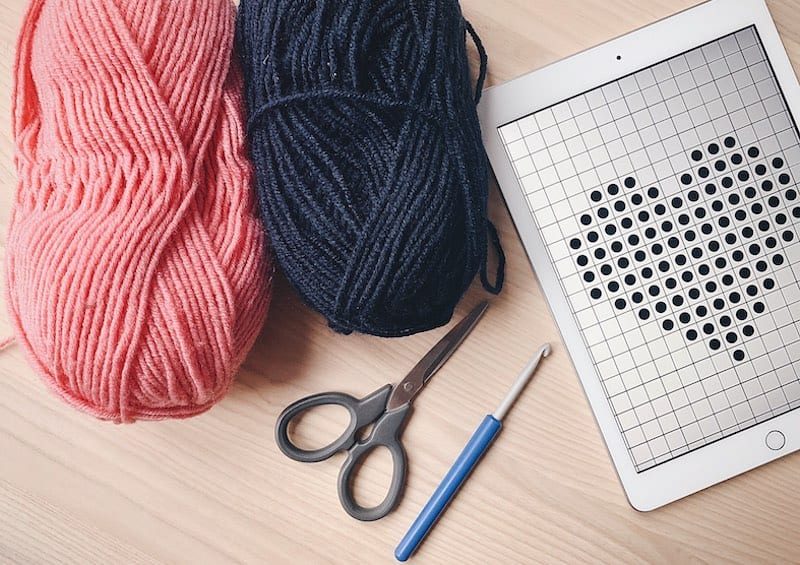 supplies for tapestry crochet