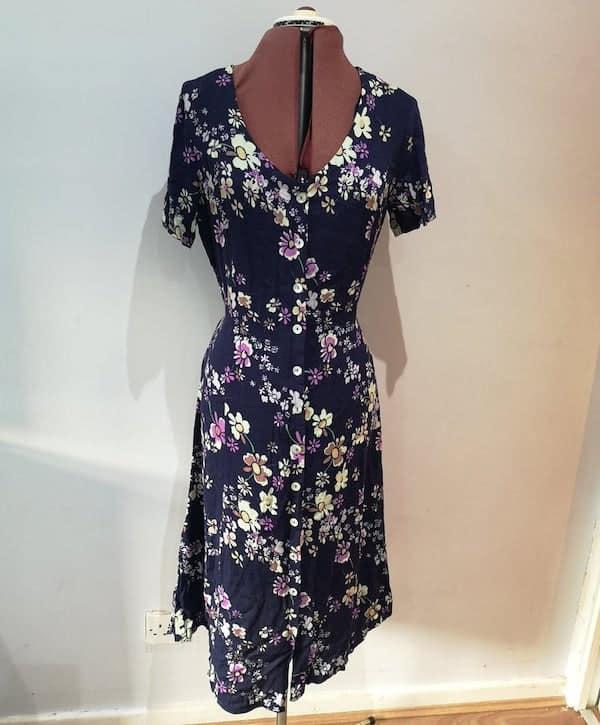 tea dress on a dress form
