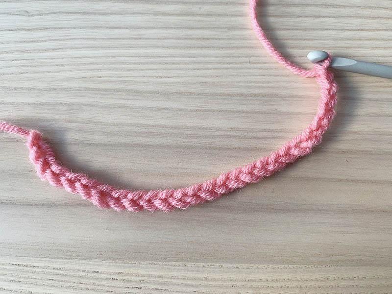 chain stitch crochet