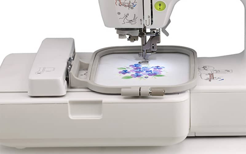 brother SE 400 embroidery station